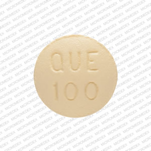Quetiapine fumarate 100 mg APO QUE 100 Back
