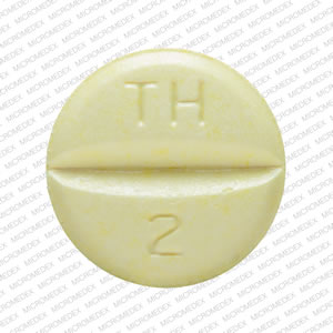 Hydrochlorothiazide and triamterene 50 mg / 75 mg MYLAN TH 2 Back