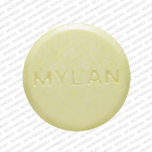 Hydrochlorothiazide and triamterene 50 mg / 75 mg MYLAN TH 2 Front