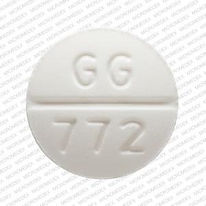 Glipizide 10 mg GG 772 Front
