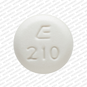 Methimazole 10 mg E 210 Front