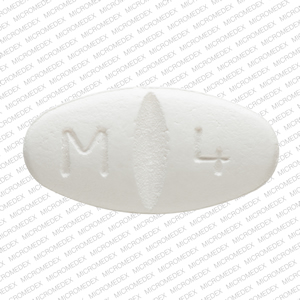 Metoprolol succinate extended-release 200 mg M 4  Front