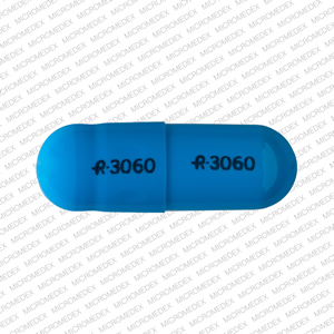 Amphetamine and Dextroamphetamine Extended Release R 3060 R 3060