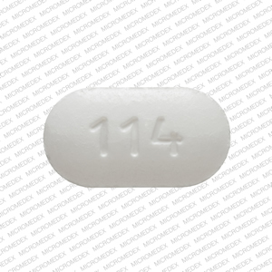 Methocarbamol 500 mg H 114 Back