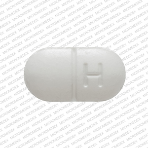 Methocarbamol 500 mg H 114 Front