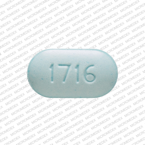 Warfarin sodium 4 mg TV 4 1716 Back