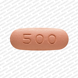 Niacin extended-release 500 mg S 500 Back