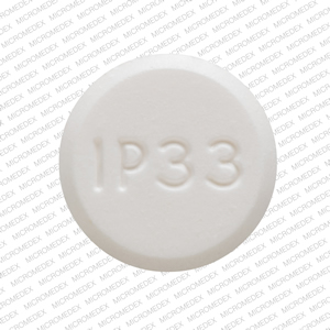 Acetaminophen and Codeine Phosphate IP 33 3