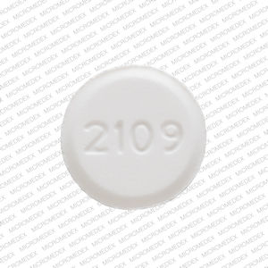 Amlodipine besylate 5 mg V 2109 Front
