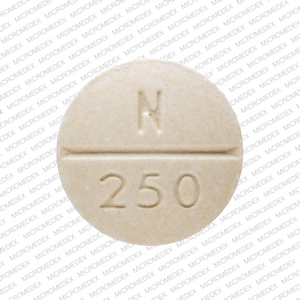 Nature-throid 162.5 mg (2 ½ Grain) RLC N 250 Back