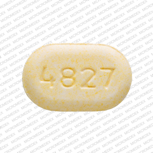 Acetaminophen and Oxycodone Hydrochloride V 4827