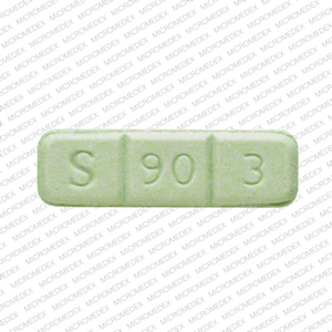 S 90 3 >> S 90 3 Pill Images Green Rectangle