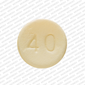 Opana ER 40 mg E 40 Back