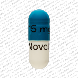 Temazepam 15 mg 15 mg Novel 121 Front