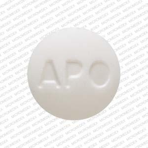 Glipizide 10 mg APO GLP 10 Front