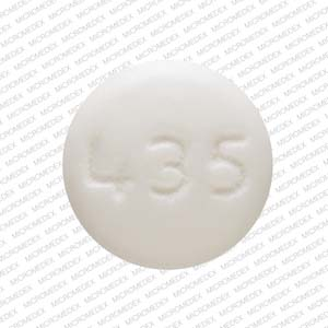 Pill Imprint 435 (Acamprosate Calcium Delayed-Release 333 mg)
