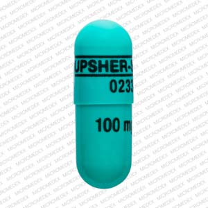 Morphine sulfate extended-release 100 mg UPSHER-SMITH 0233 100 mg Front