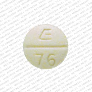 Phendimetrazine Tartrate E 76