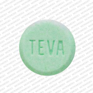 Clonazepam 1 mg TEVA 833 Back