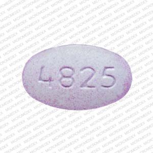 Acetaminophen and oxycodone hydrochloride 325 mg / 2.5 mg V 4825 Front