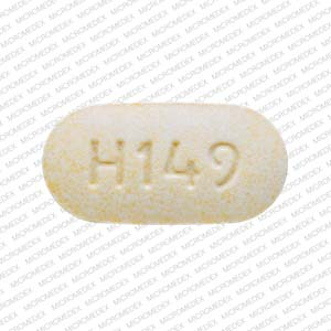 Lisinopril 40 mg H149 Front