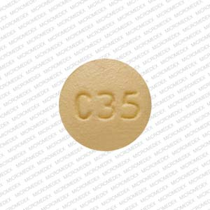 Pill Imprint C35 (Philith ethinyl estradiol 0.035 mg / norethindrone 0.4 mg)