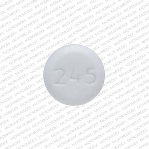 Necon 1 50 mestranol 0.05 mg / norethindrone 1 mg WATSON 245 Back