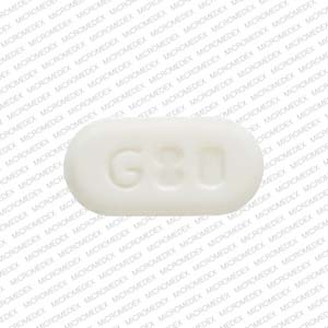 Pill Imprint G80  (Ezetimibe 10 mg)