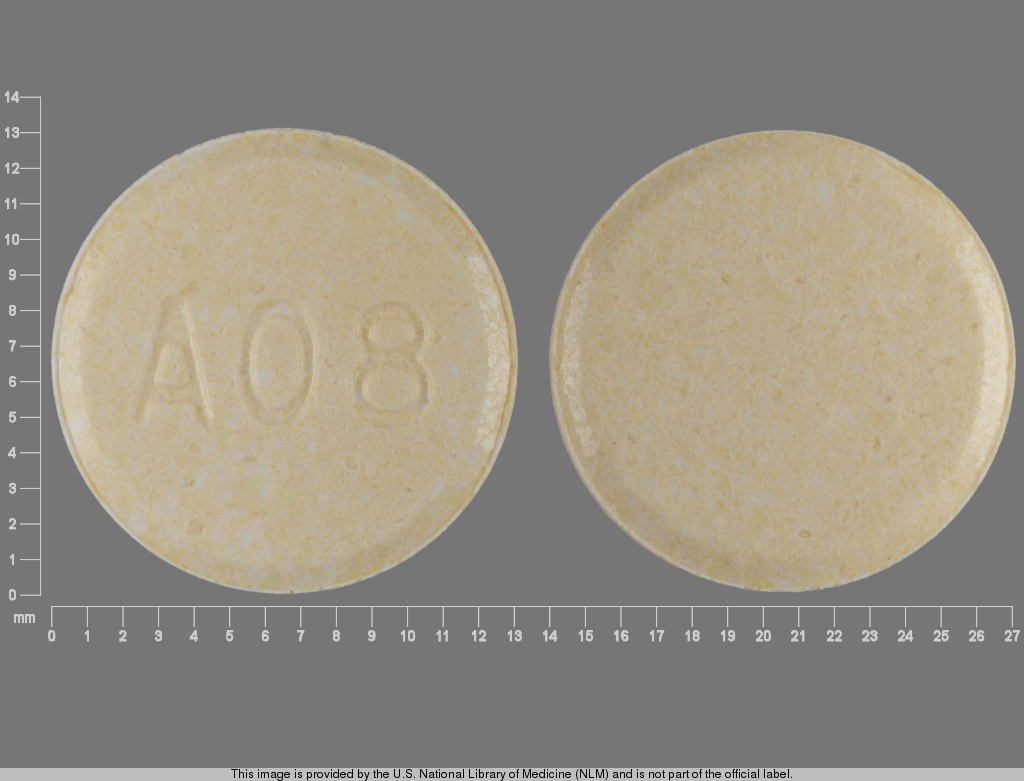 Clozapine (orally disintegrating) 100 mg A08