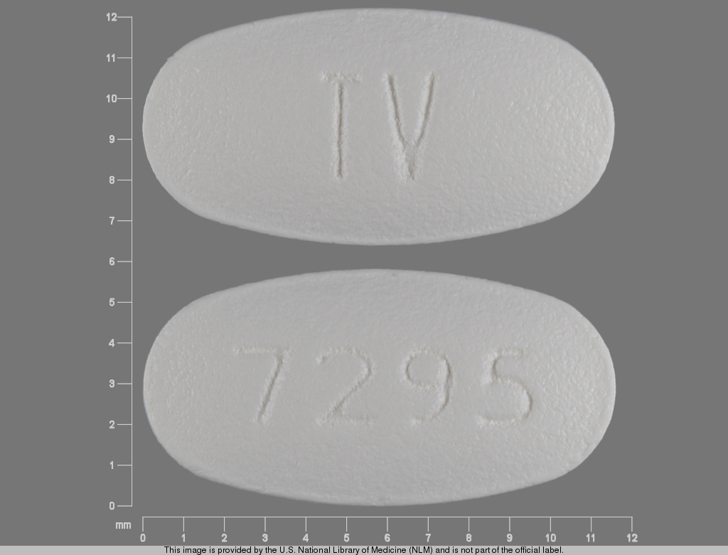 Carvedilol 12.5 mg TV 7295