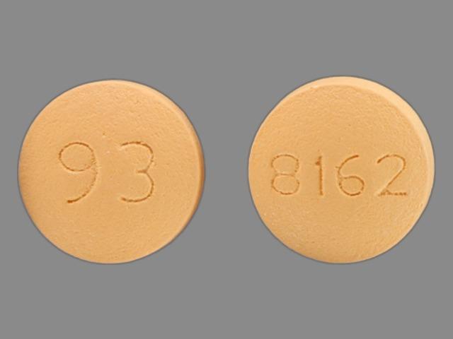 Quetiapine fumarate 100 mg 93 8162