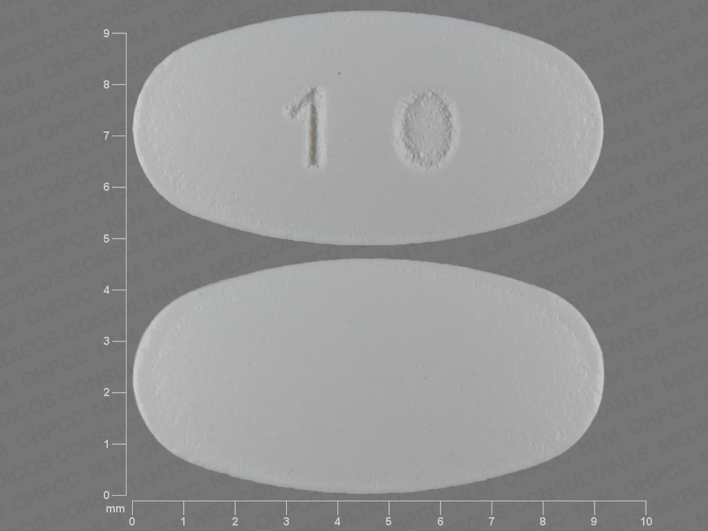 10 White And Elliptical Oval Pill Identification Wizard