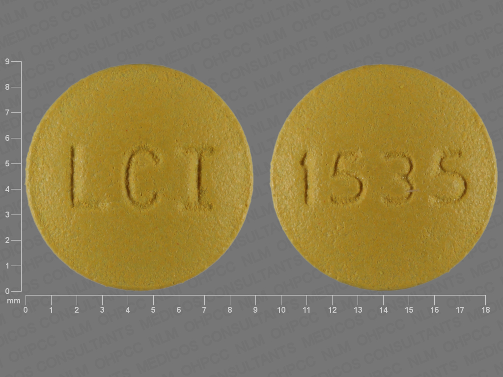 Doxycycline monohydrate 75 mg LCI 1535
