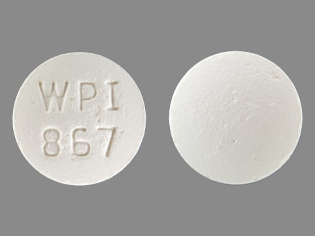 Bupropion Hydrochloride Extended-Release (SR) WPI 867