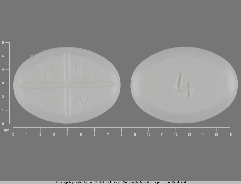 Methylprednisolone 4 mg 4 42 16 V
