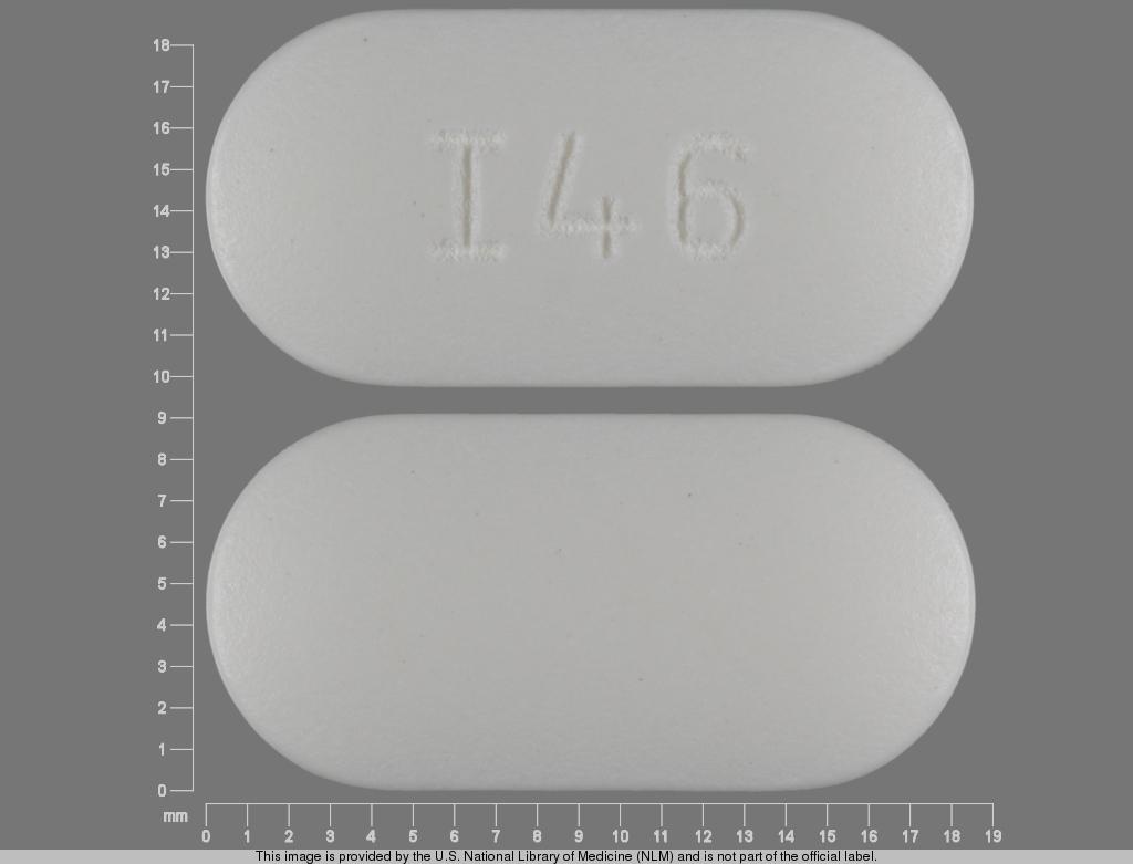 Metformin hydrochloride 850 mg I46
