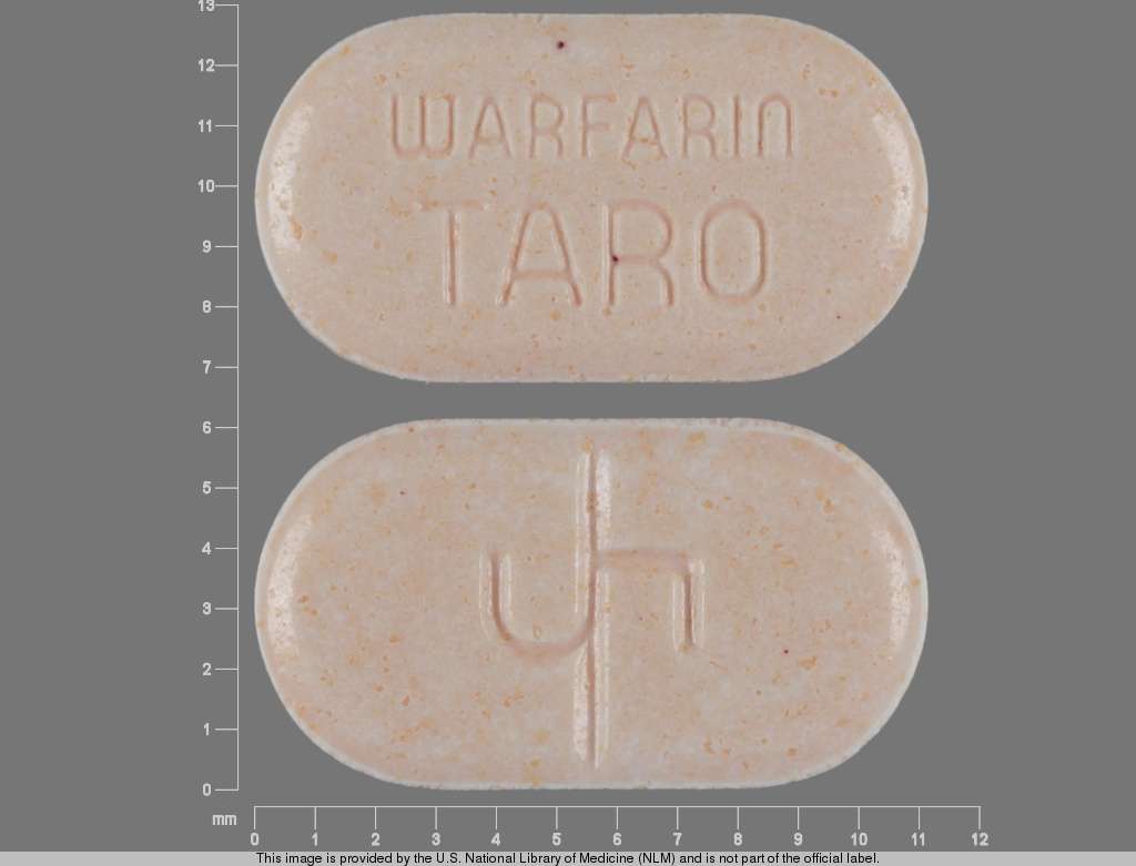 Warfarin sodium 5 mg 5 WARFARIN TARO