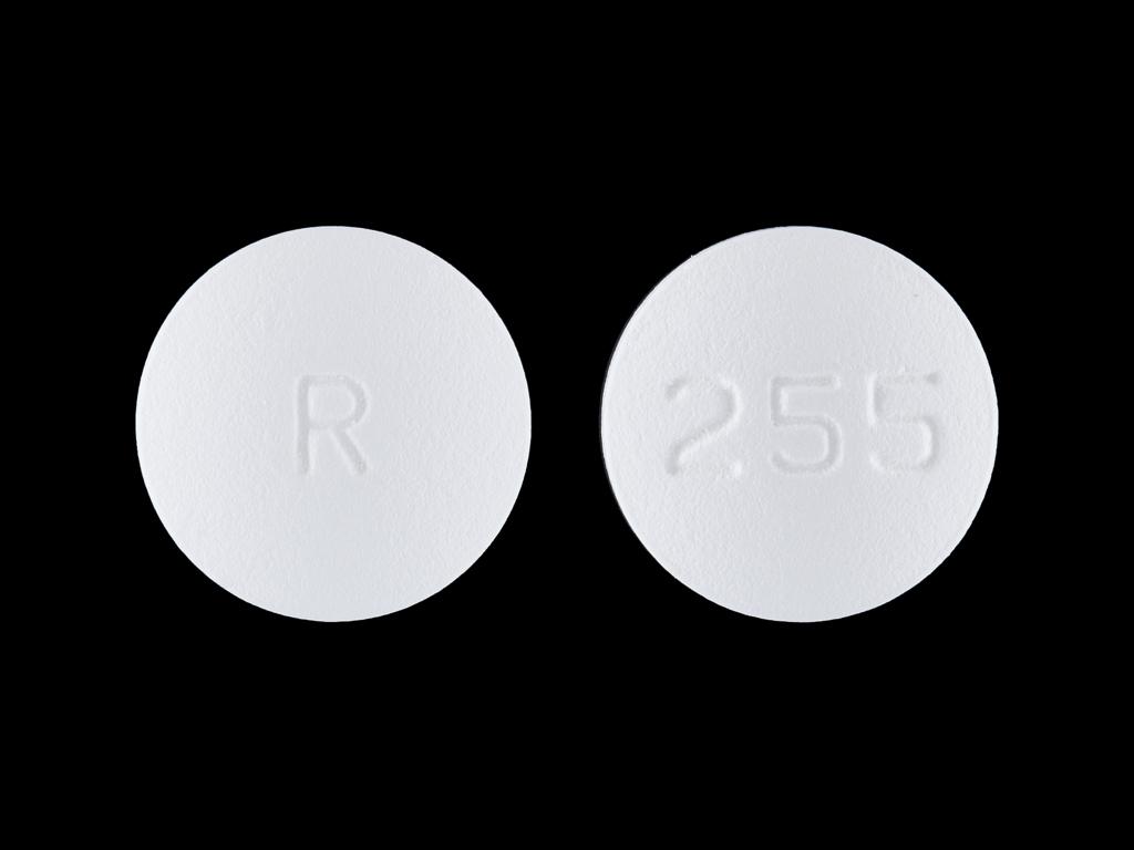 Carvedilol 25 mg R 255