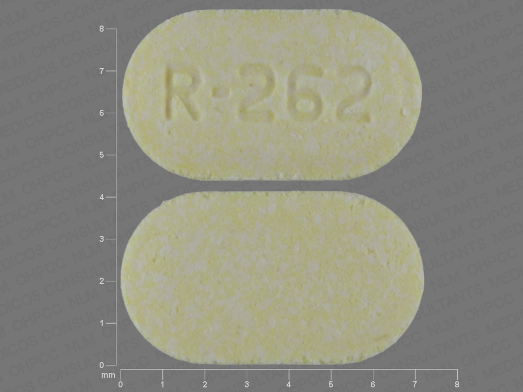 Olanzapine (orally disintegrating) 5 mg R-262