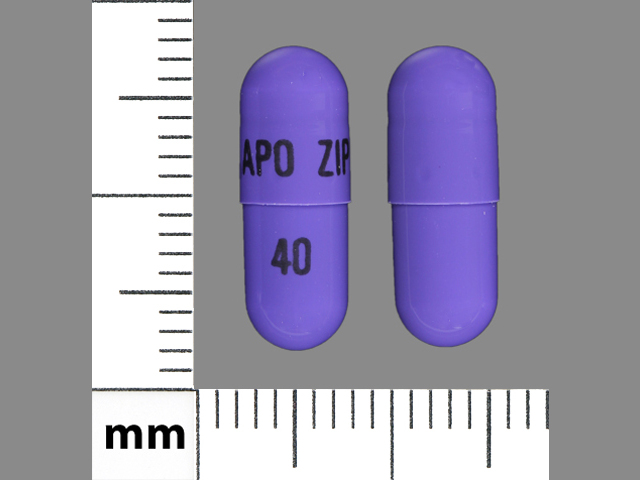 Ziprasidone hydrochloride 40 mg APO ZIP 40