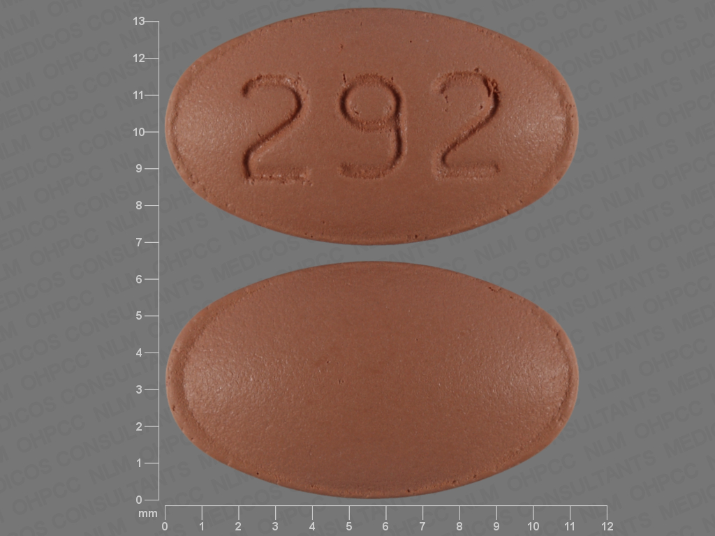Verapamil hydrochloride extended release 120 mg 292