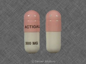 Actigall 300 mg ACTIGALL 300 MG