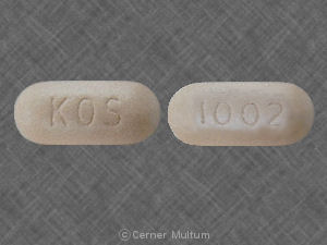 Advicor 20 mg / 1000 mg KOS 1002