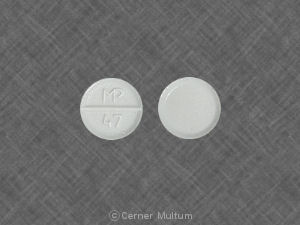 Albuterol sulfate 2 mg MP 47