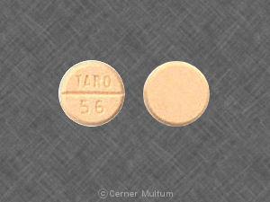Amiodarone hydrochloride 200 mg TARO 56
