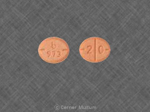 Amphetamine and Dextroamphetamine 20 mg
