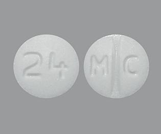 Pill Imprint M C 24 (Candesartan Cilexetil 4 mg)