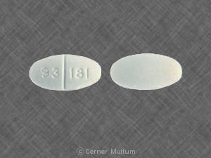 Captopril and Hydrochlorothiazide 93 181