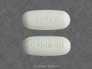 Cipro XR 1000 mg BAYER C1000 QD