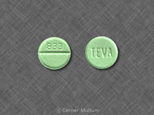 Clonazepam systemic 1 mg (TEVA 833) ...
